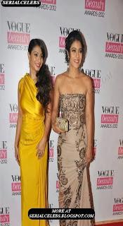 Celebs at Vogue Beauty Awards 2012