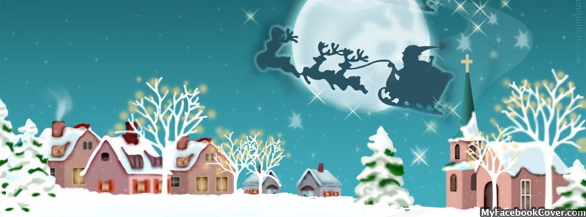 Free Christmas Facebook Covers for Timeline | CGfrog