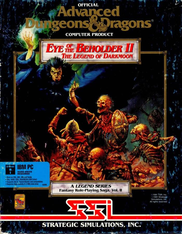 Eye Of The Beholder II – The Legend Of Darkmoon Eye+of+the+Beholder+2