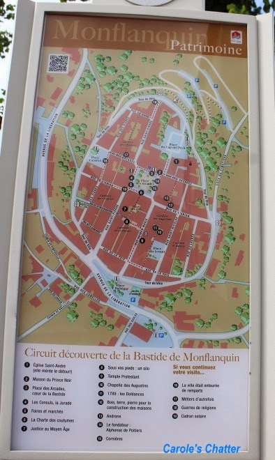Carole's Chatter: Monflanquin – a mediaeval town