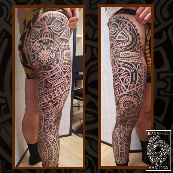 tatouage polynesien tribal - Galeries tatouage Polynésien tatoouages FENUA TATTOO