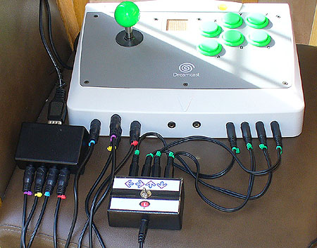 C-SID accessible game controller with additional accessibility modules for one-switch dancing and more.