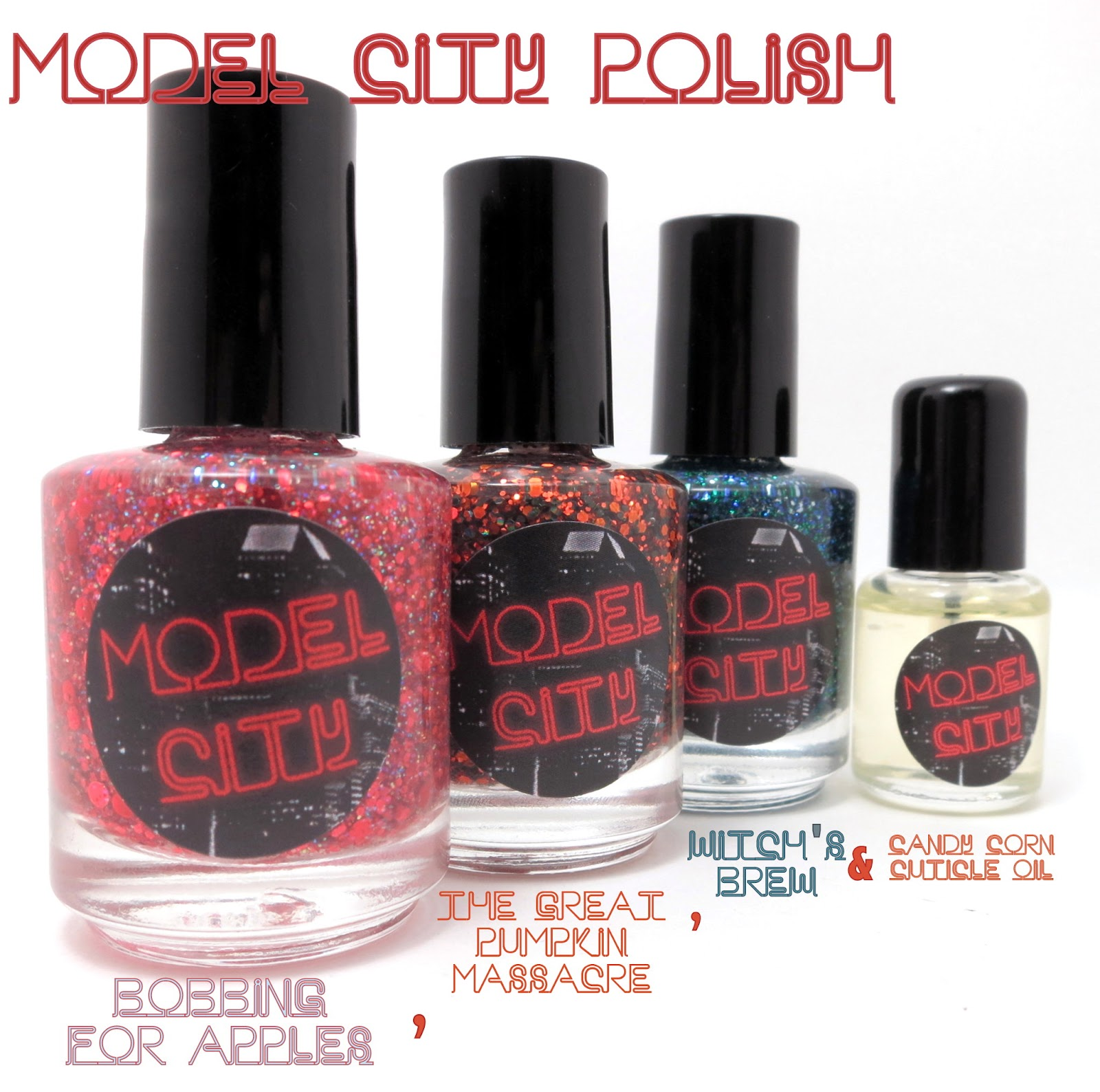 Oh Three Oh Four: Model City Polish Reviews & Swatches