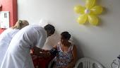 VOLUNTÁRIOS DA ASAPAC ,AFERINDO PA(PRESSÃO ARTERIAL )