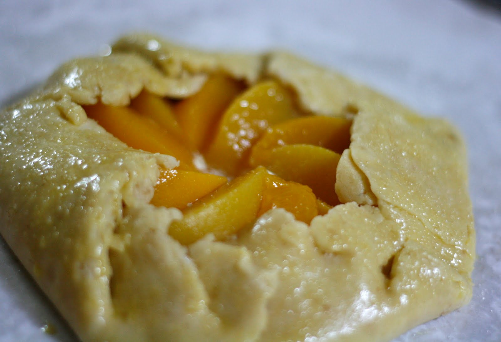Pastry Philosophy: Peach Frangipane Galette