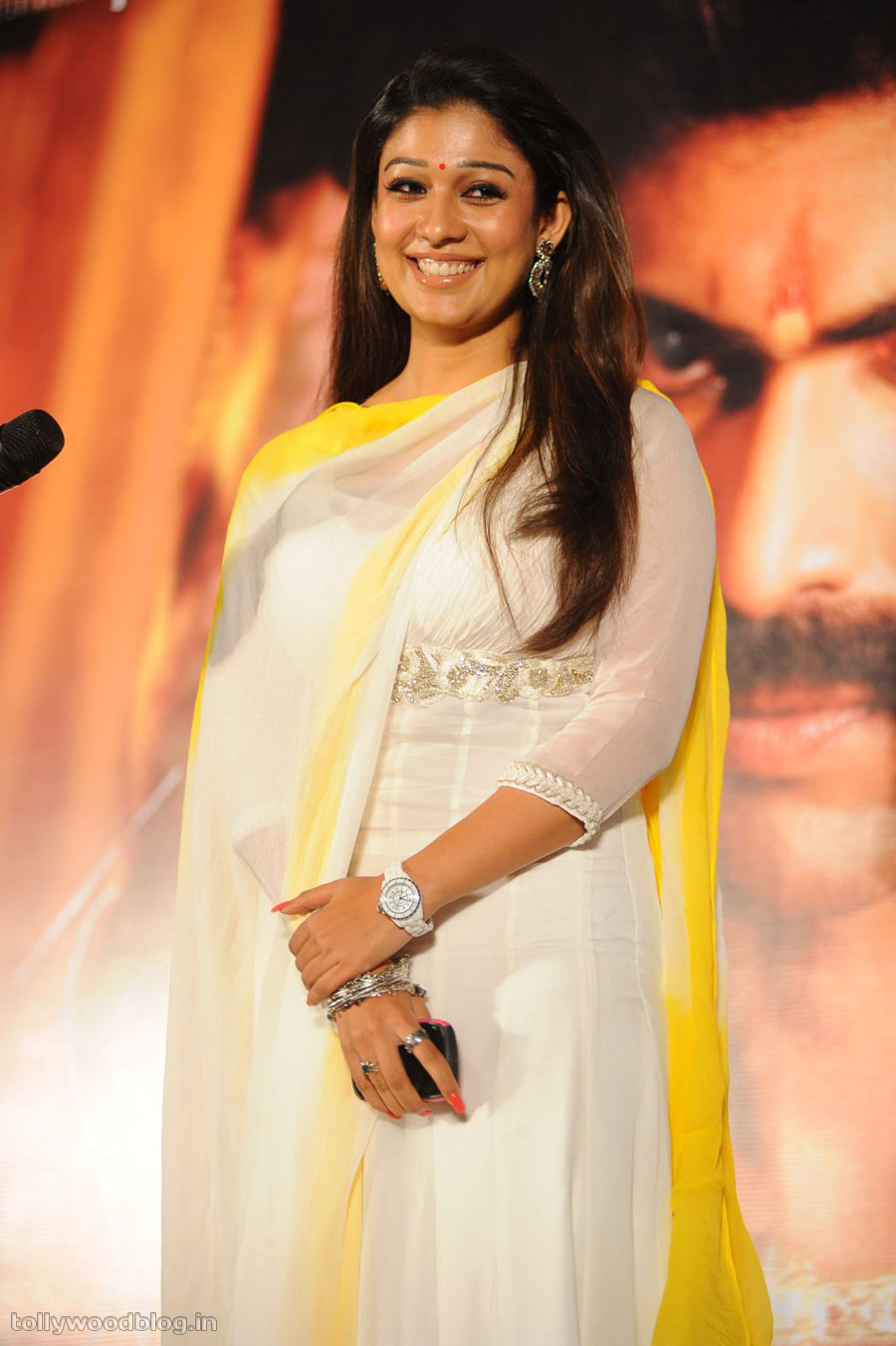 nayanthara photos at krishnam vande jagadgurum audio   hd