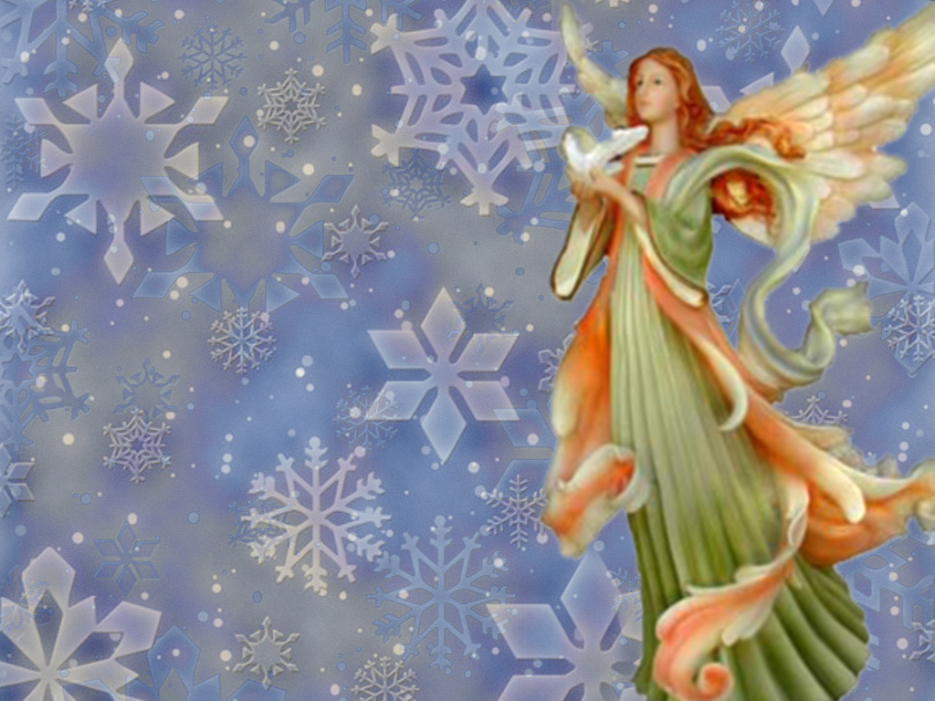 free christmas desktop wallpaper christmas angel wallpapers