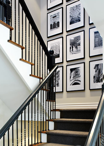 Cozy Eclectic How To Decorate A Staircase Wall