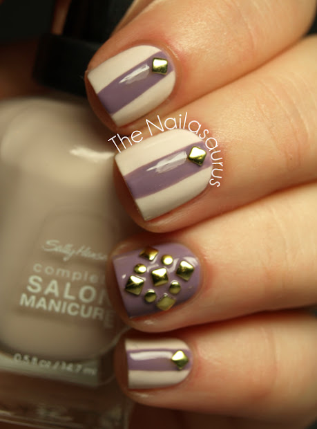 pretty polish with stud top