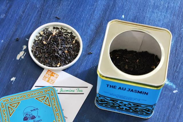fare il gelato col tè verde al gelsomino