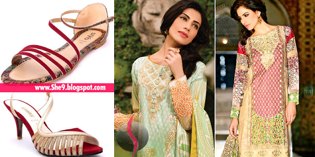 Selective Top Ten Eid Dress with Shoes