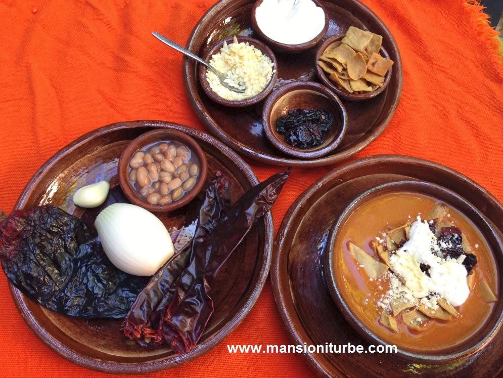 Restaurante Doña Paca en Pátzcuaro: Sopa Tarasca