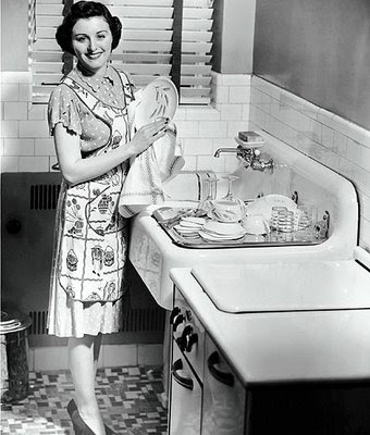 vintage housewife dishes