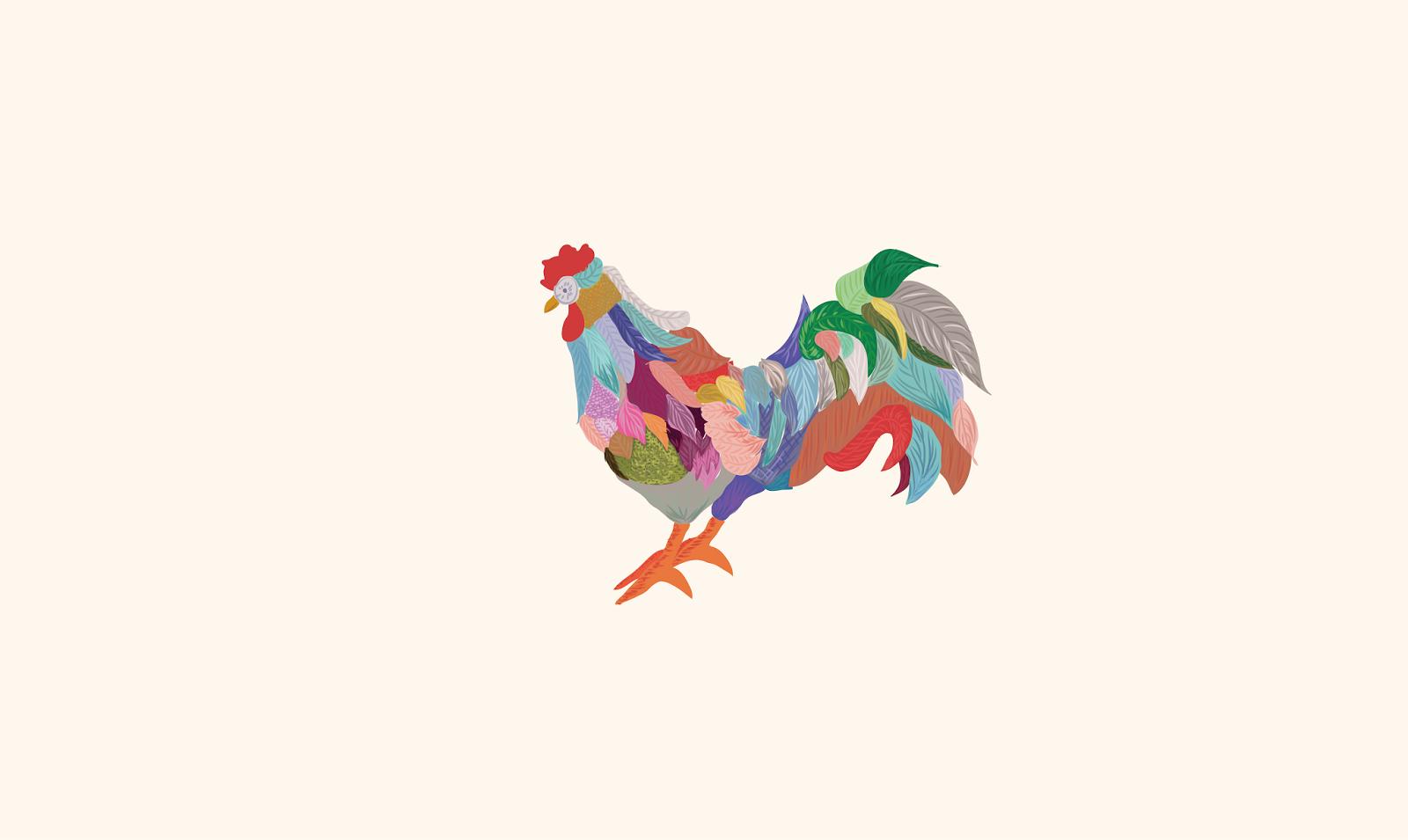 Fondo de escritorio gallo