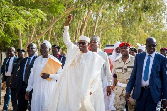 President Buhari in Katsina for Ramadan