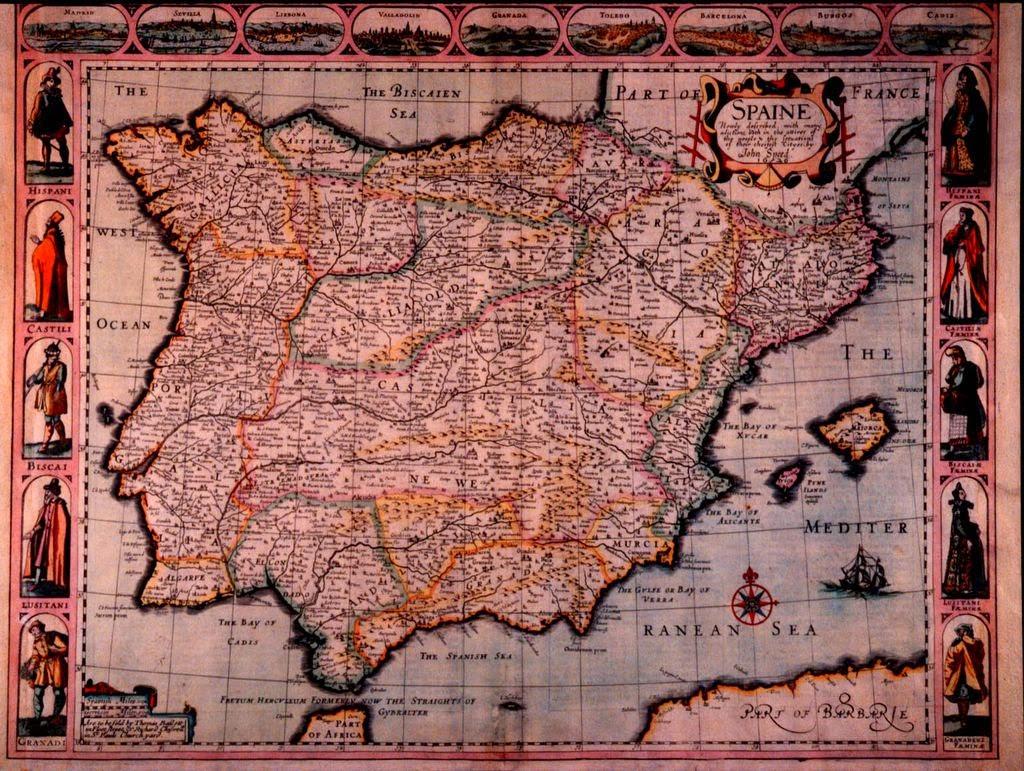 Viaje a la historia david g mez lucas mapas de espa a - Viaje de novios espana ...