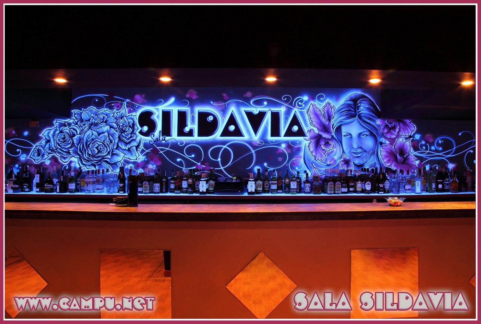 Campu net dise o pintura aerografia e ilustracion - Decoracion de bares de copas ...
