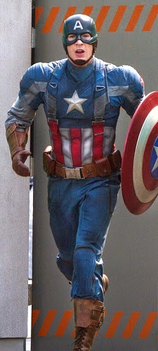 Kostum Captain America Smithsonian Modified Field