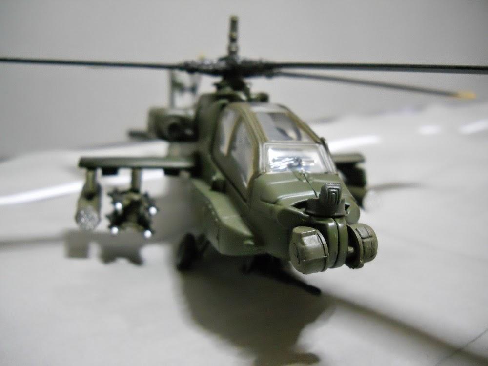 sensores de helicoptero ah-64-apache