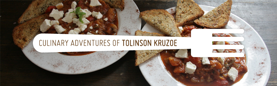 Amazing culinary adventures of Tolinson Kruzoe