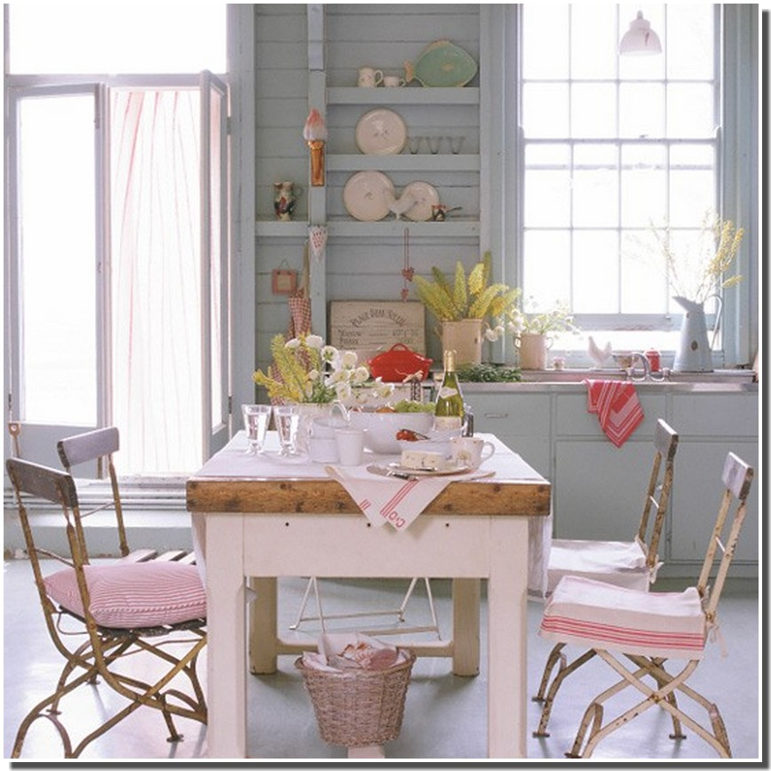 nassima home cuisine country romantique. Black Bedroom Furniture Sets. Home Design Ideas