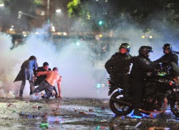 Argentina World Cup Riots: Police Use Tear Gas, Rubber Bullets To Disperse Destructive Vandals