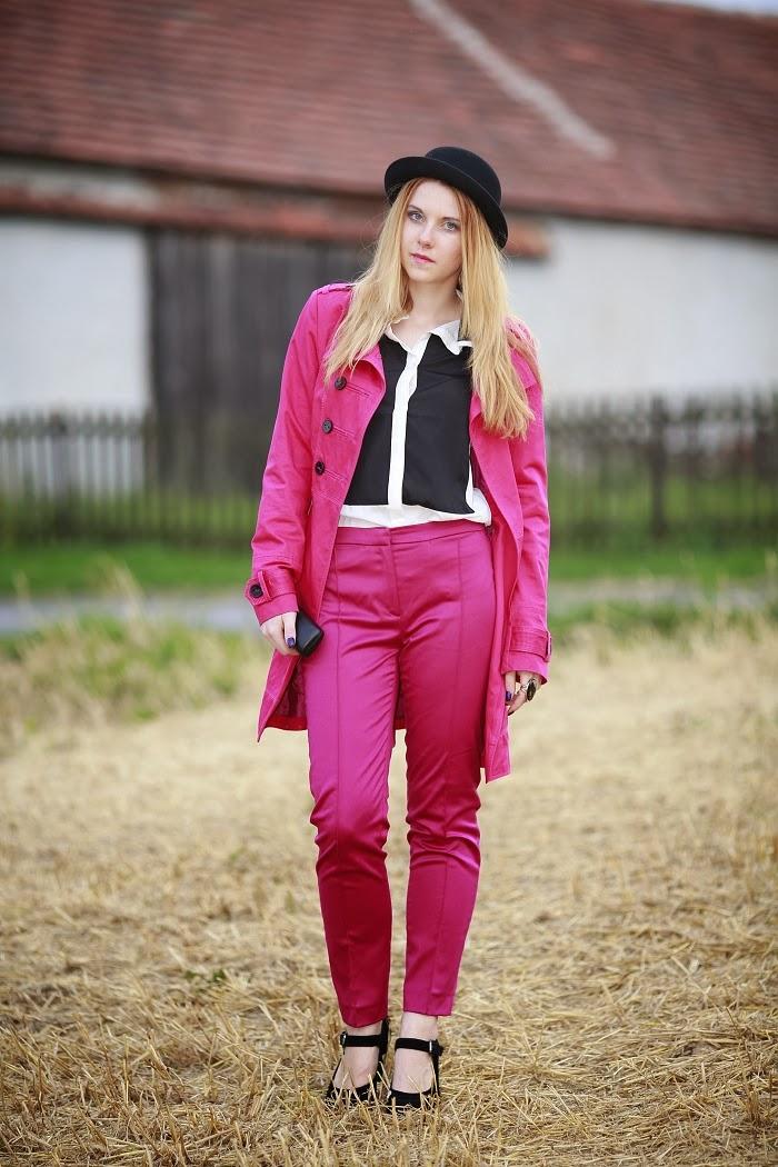 lucie srbová, style without limits, česká blogerka, oblek
