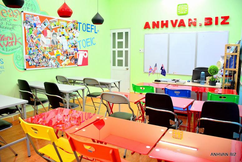 Phòng Học Anhvan.biz Rộng Mát và Hiện Đại