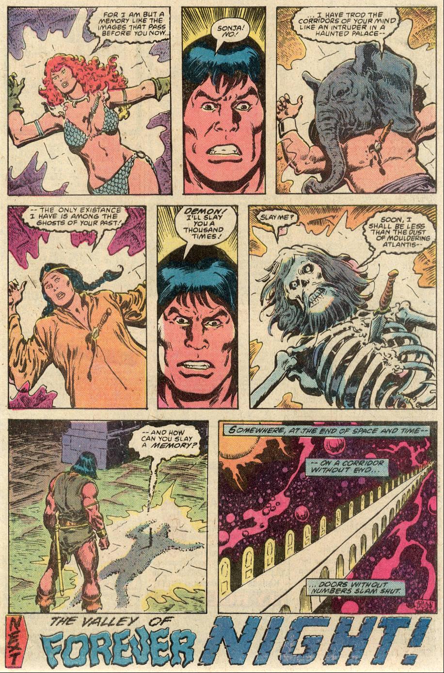 Conan the Barbarian (1970) Issue #117 #129 - English 23