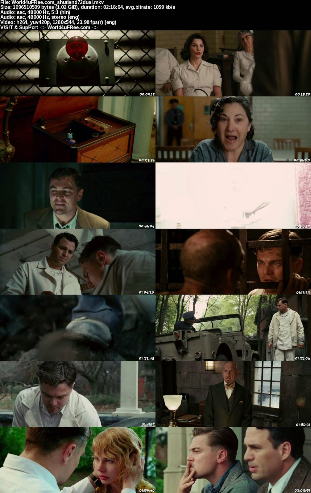 Shutter Island Online With English Subtitles