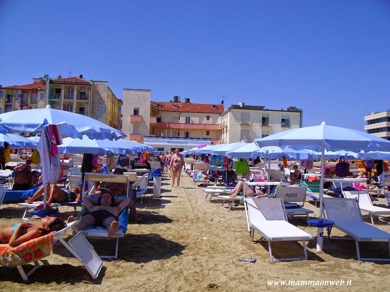 Le nostre vacanze a villamarina di cesenatico presso l 39 hotel croce di malta e l 39 hotel mexico - Bagno mare cesenatico ...