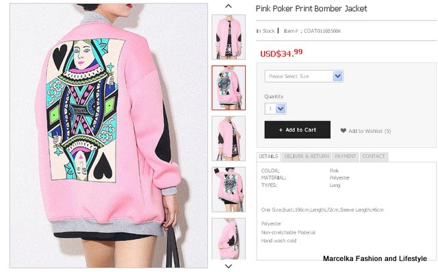 www.persunmall.com/product/pink-poker-print-bomber-jacket_p8317?ceid=697