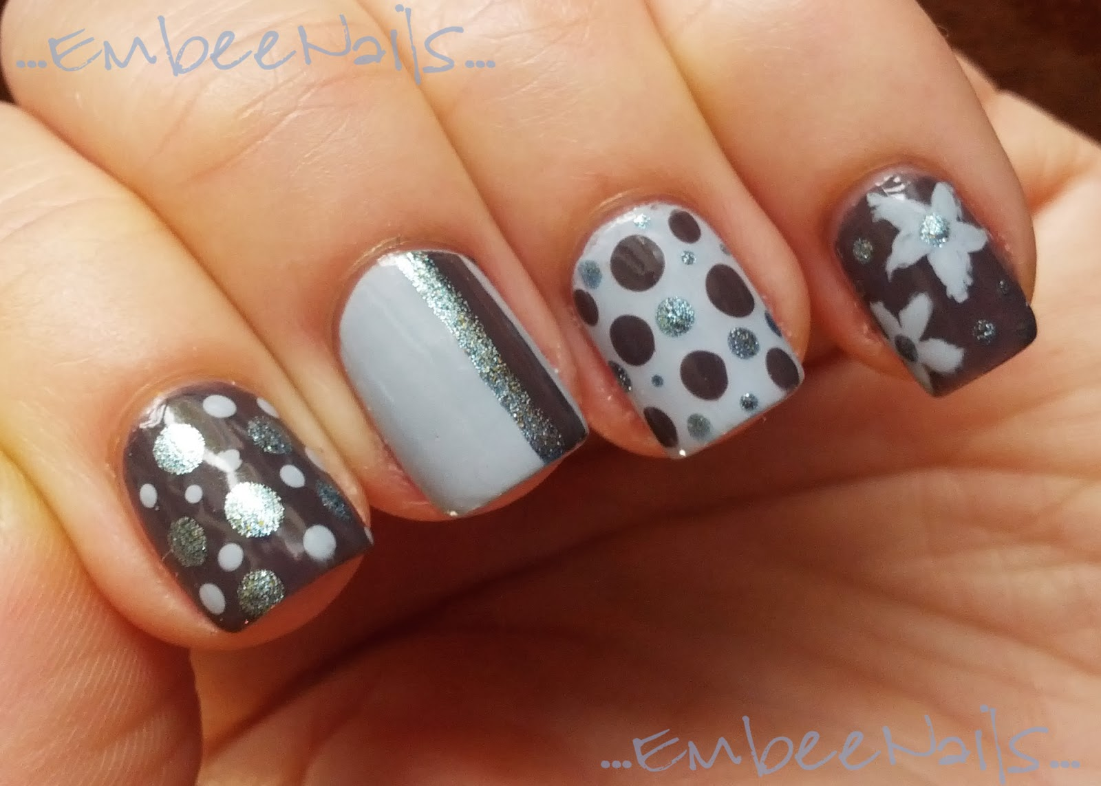 Embee Nails: Essie Smokin\' Hot + Zoya Kristen & Hazel