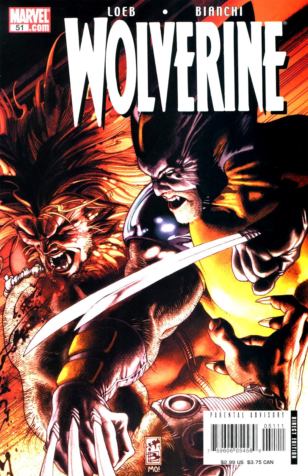 Read online Wolverine (2003) comic -  Issue #51 - 1