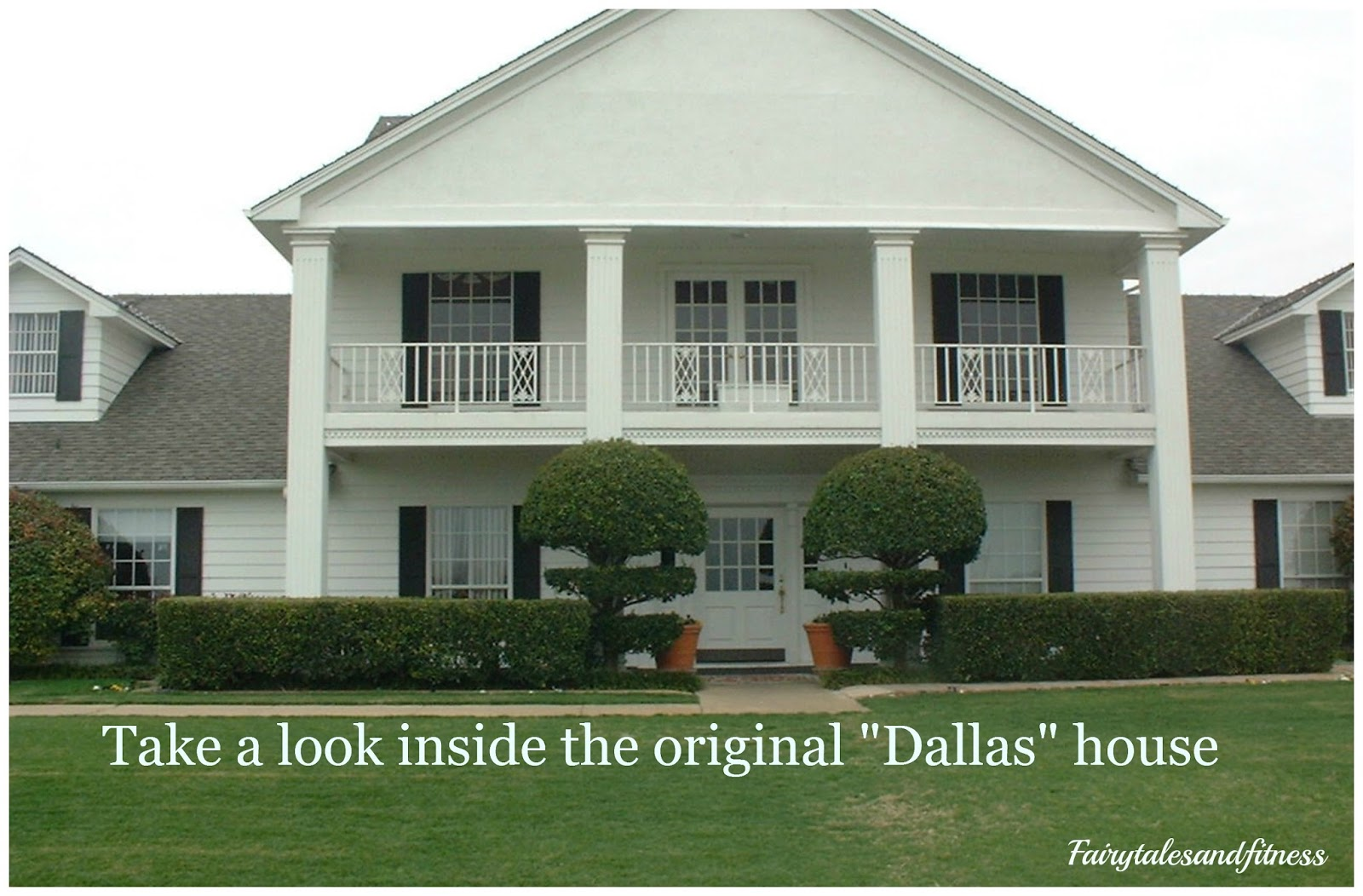 This was the street where president kennedy was shot while for Southfork ranch house plans
