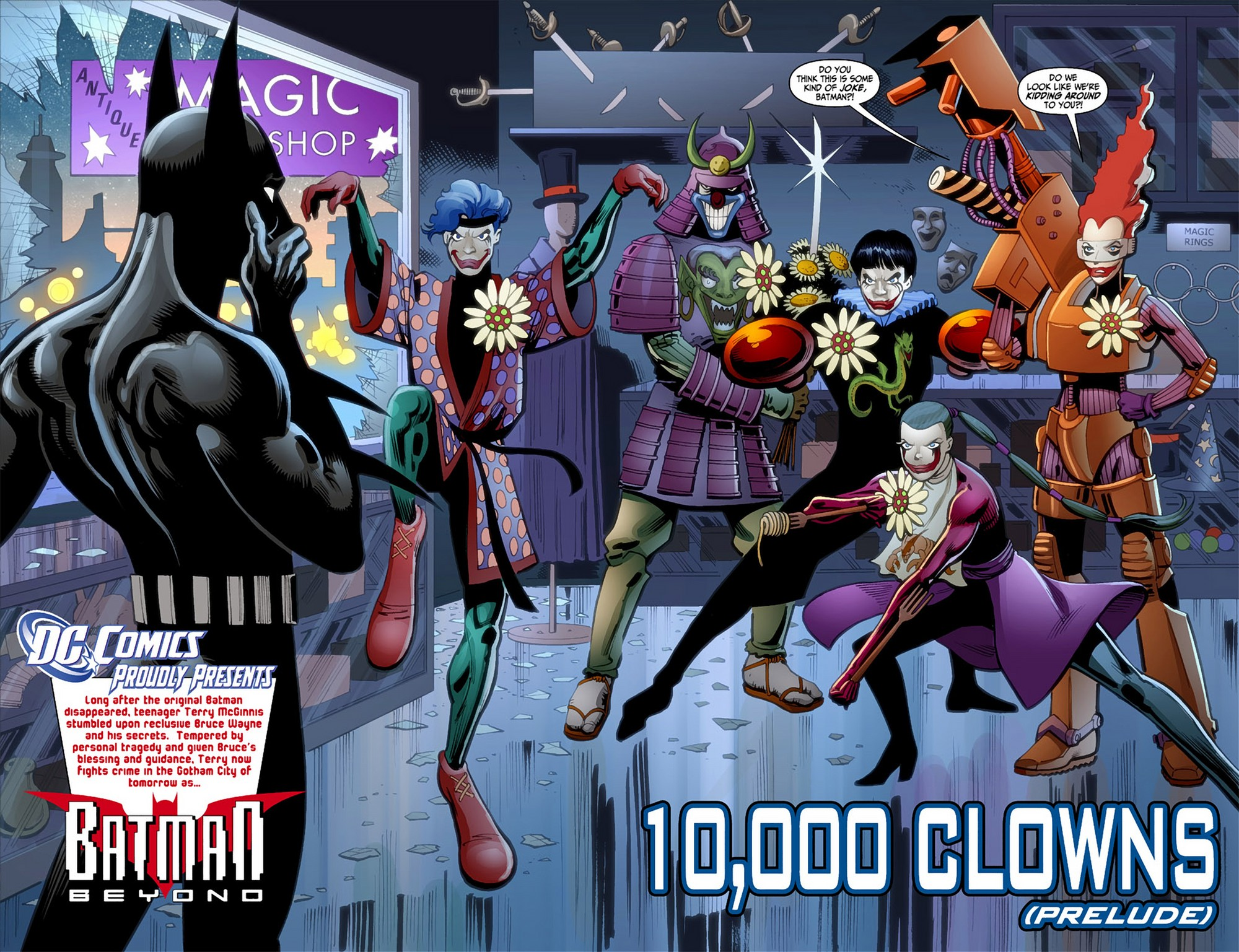 Batman Beyond (2012) Issue #1 #1 - English 4