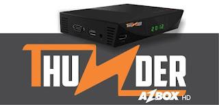Atualização Azbox Thunder Hd 26-03-2013