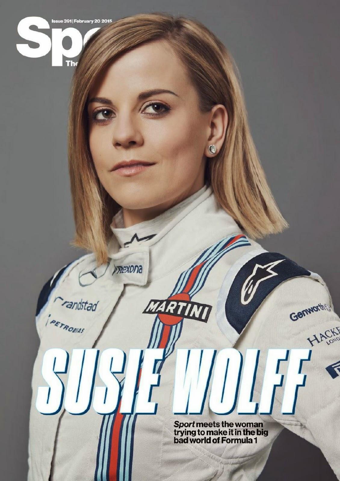 Mücke Motorsport, Persson Motorsport,Race car driver: Susie Wolff - Sport UK February 2015