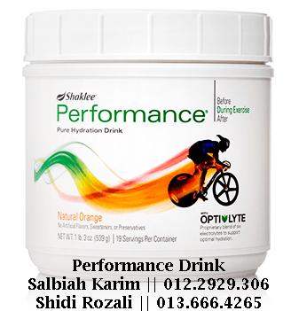 Performance Drink Shaklee pengedar shaklee putrajaya
