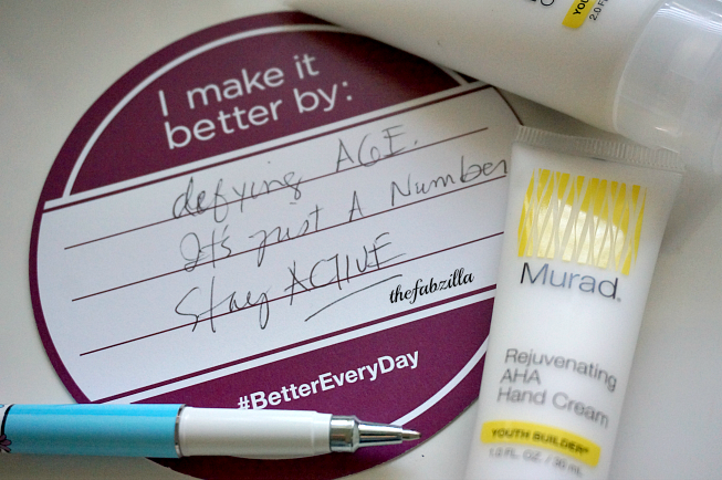 #bettereveryday, defying age, murad rejuvenating aha hand cream, murad detoxifying white clay body cleanser