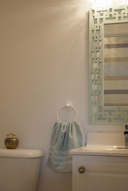powder room redo by cuckoo4design