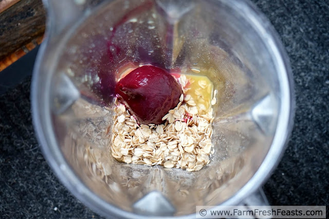 http://www.farmfreshfeasts.com/2015/07/oatmeal-orange-beet-blender-muffins.html