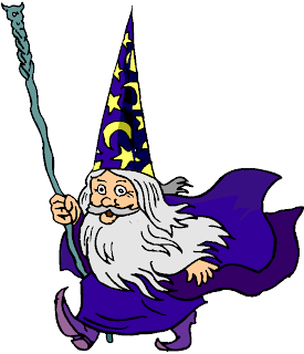 Old Man Wizard Free Clipart