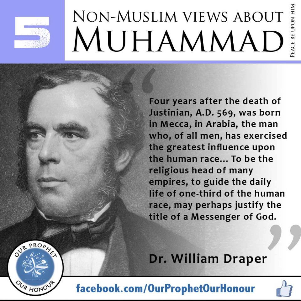 prophet muhammad Western muslims are shocked to learn that muhammad was a white man who bought, owned, sold, and traded black african slaves many people who don't read the m.