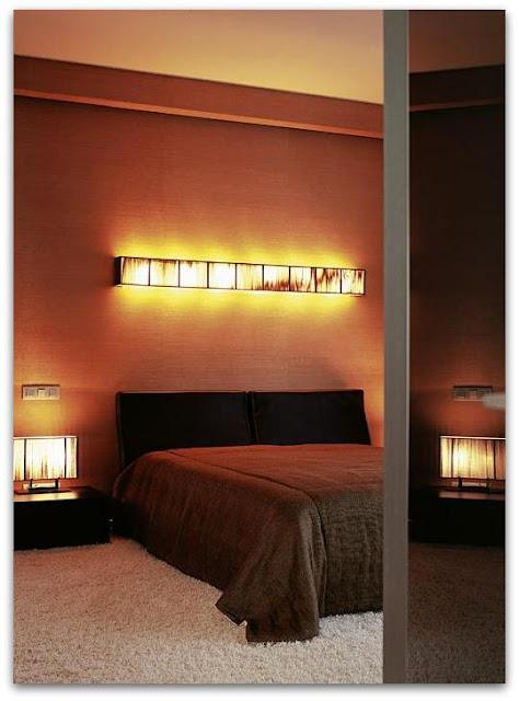 Интерьер спальни из проекта, реализованного архитектором Инной Бесценной