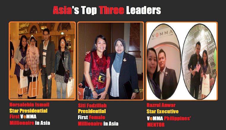 Asia's VeMMA Top Three