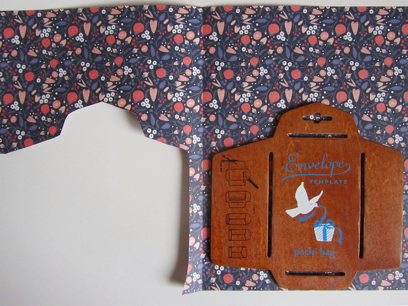 little wooden envelope template