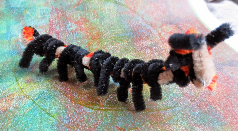 pipe cleaner art