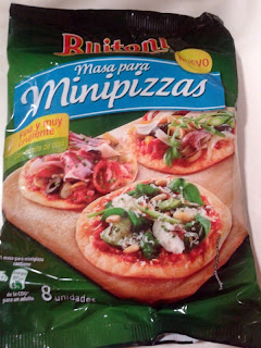masa para minipizzas de Buitoni