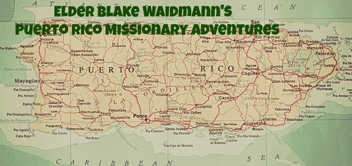 Elder Blake Waidmann's Puerto Rico Adventures